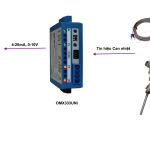 Bộ chuyển tín hiệu can nhiệt - OMX333UNI