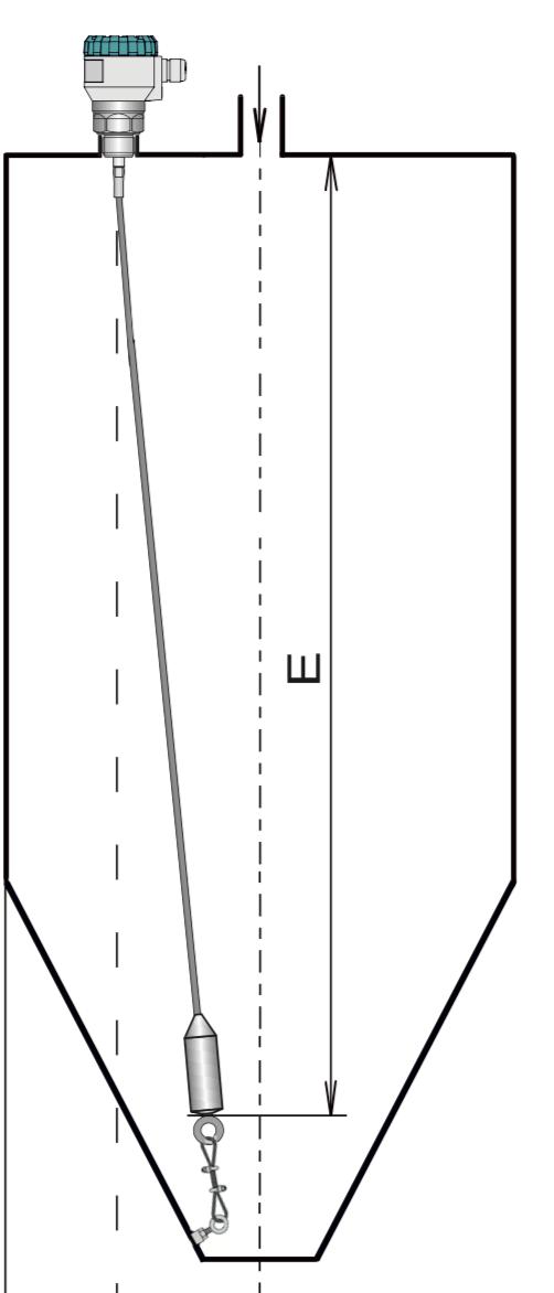 Cách lắp cảm biến đo xi măng