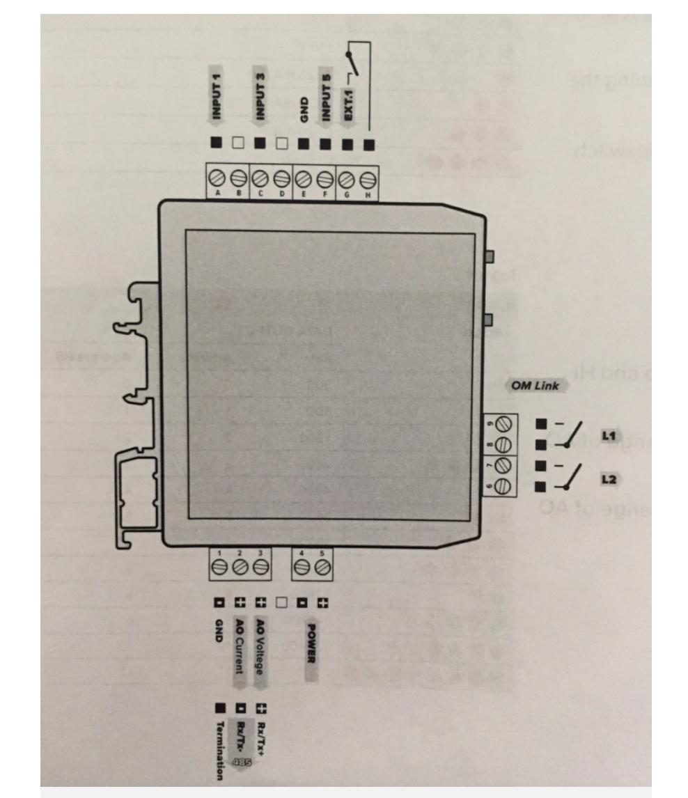 Cách đấu dây model OMX333PWR