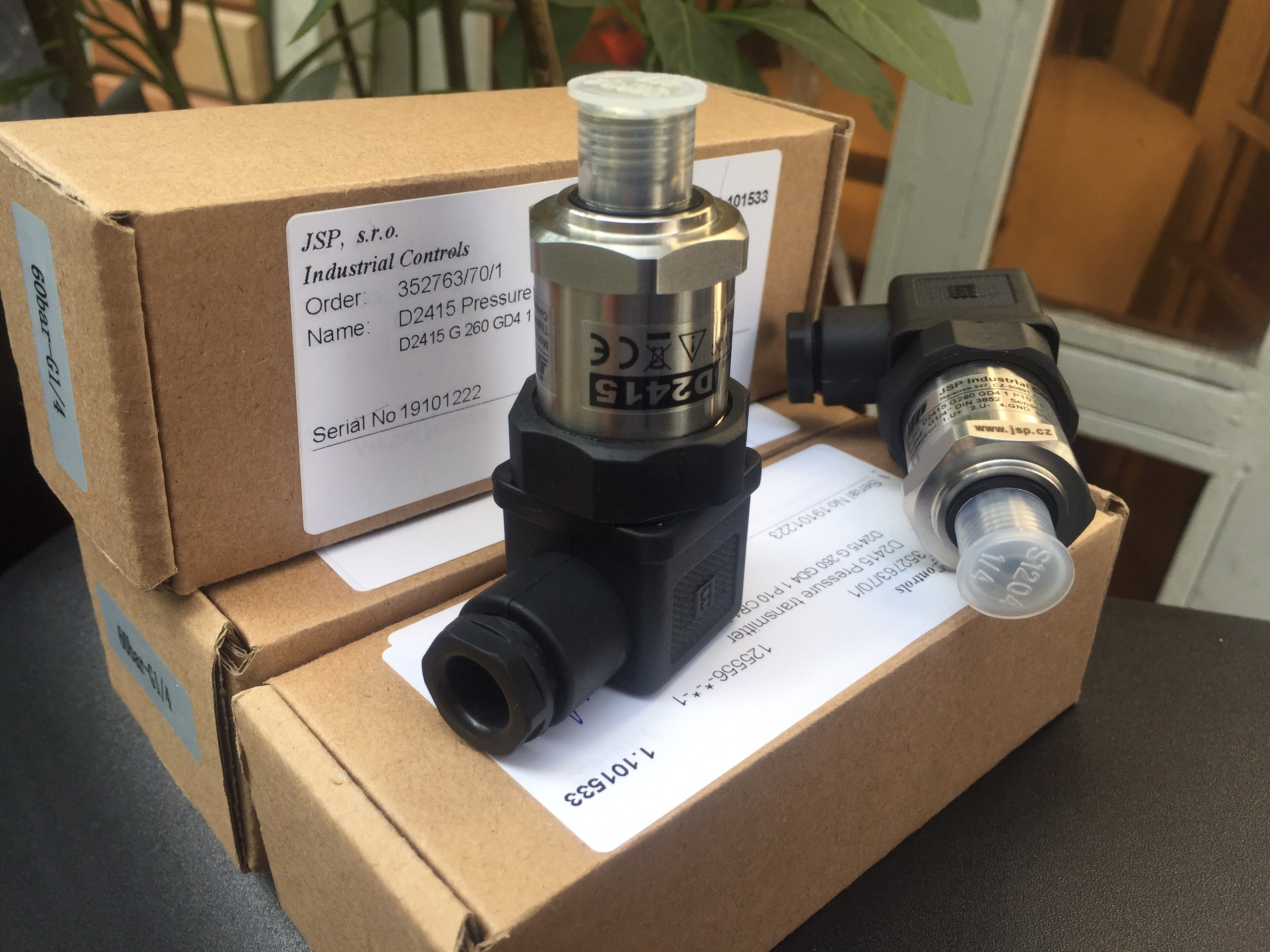 Cảm biến đo áp D2415 - JSP