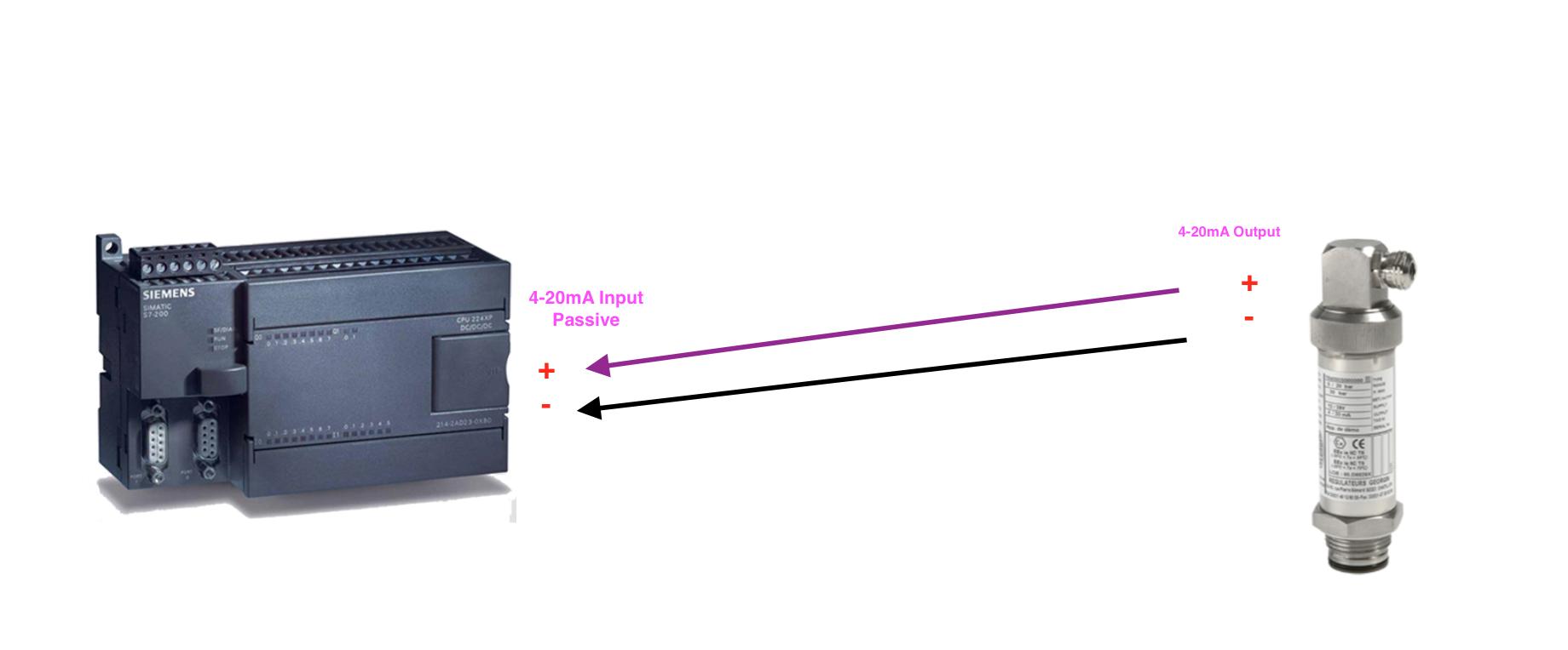 Cách đâu dây cảm biến áp suất 4-20mA Pasive