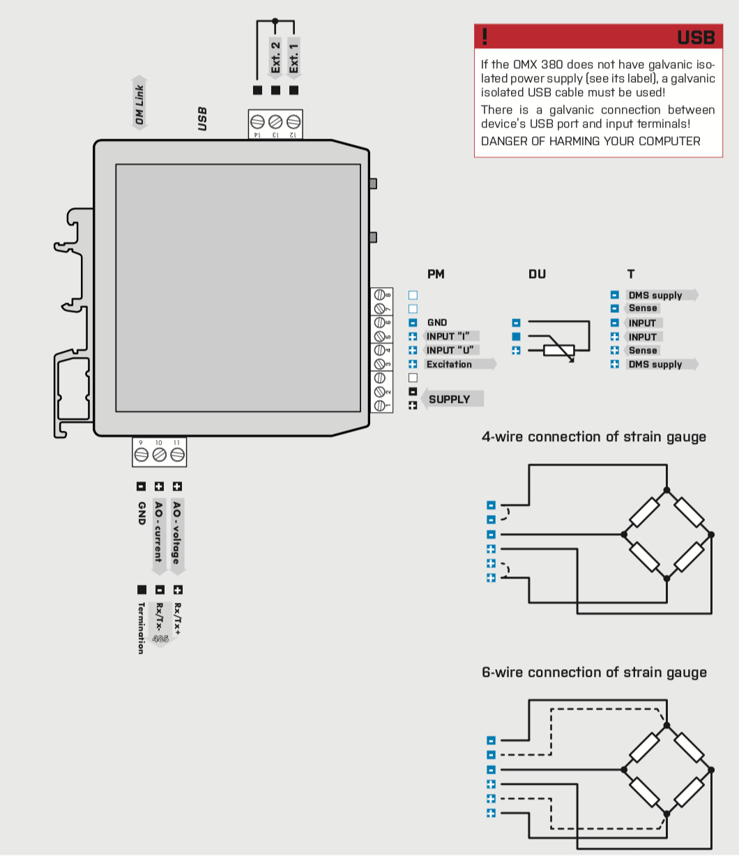 Cách đấu dây bộ chuyển đổi tín hiệu loadcell