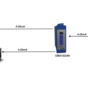 Ứng dụng chia dòng điện 4-20mA