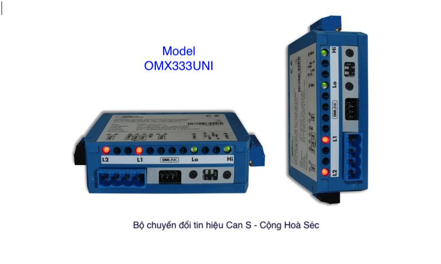 Bộ chuyển đổi can nhiệt S ra 40-20mA -Cộng Hoà Séc
