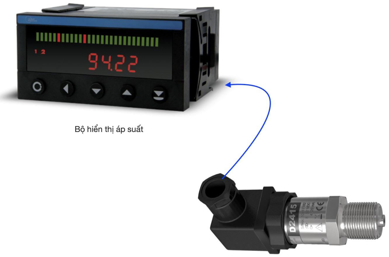 Bộ hiển thị tín hiệu áp suất