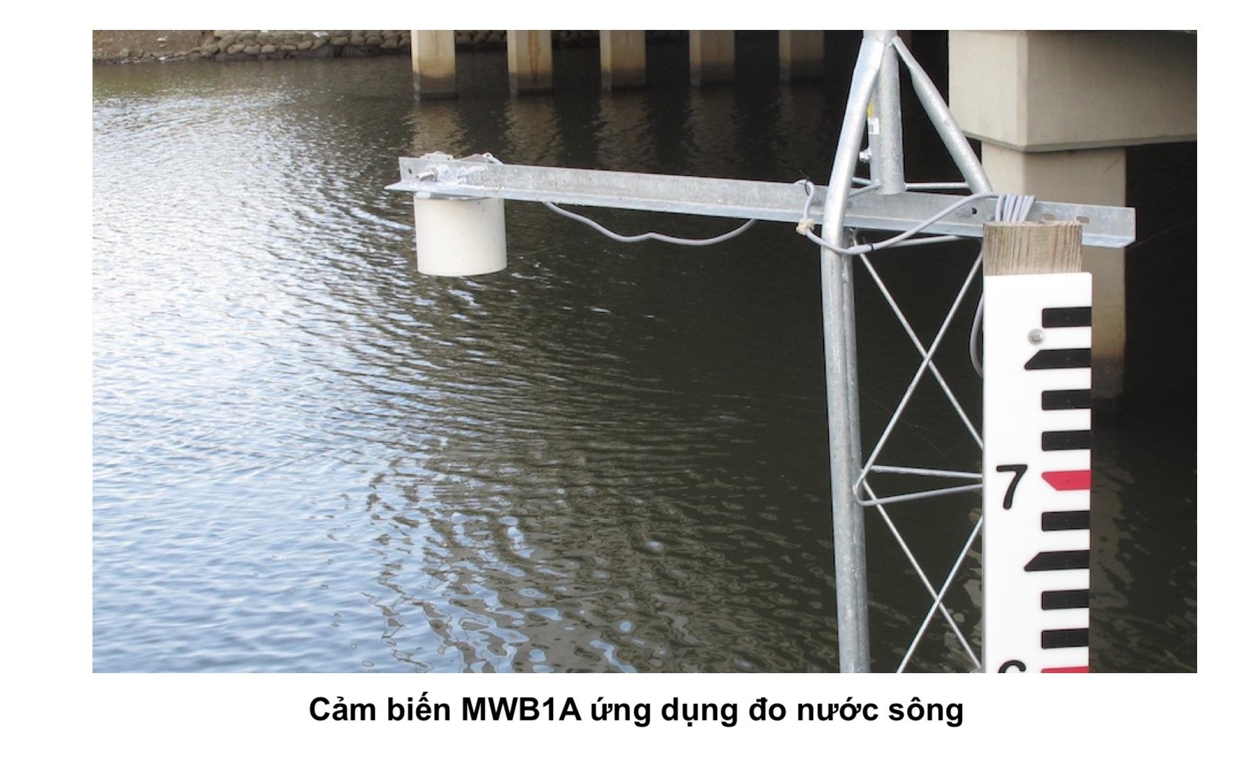 Ứng dụng đo nước sông dùng MWB1A