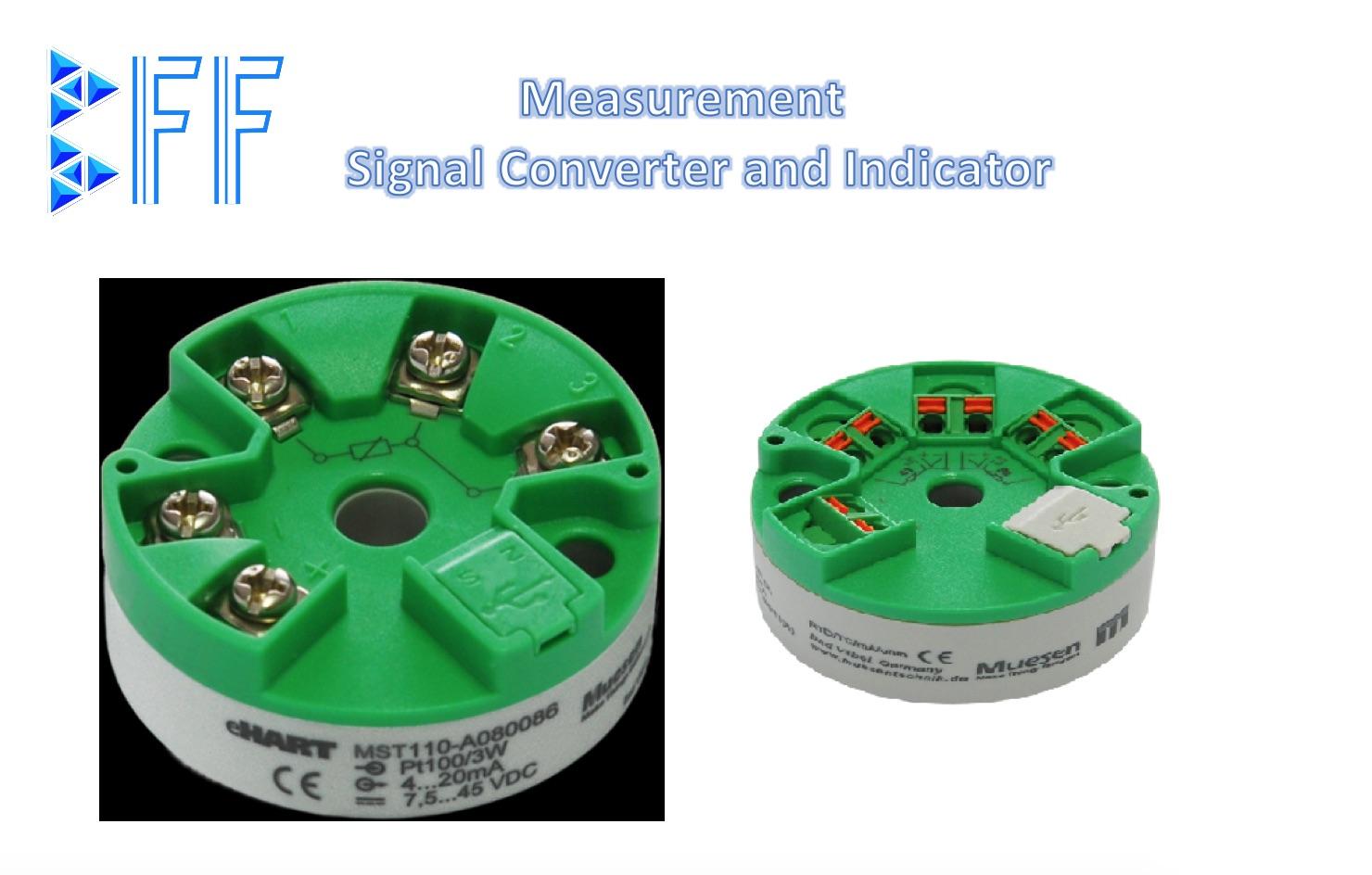 MST110 - Bộ chuyển nhiệt độ cảm biến Pt100