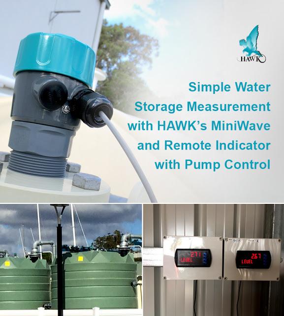 Cảm biến giám sát nước trong các bể