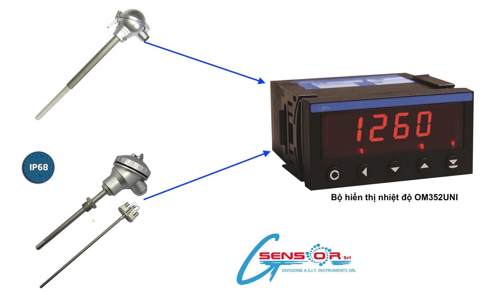 Bộ hiển thị nhiệt độ OM352UNI