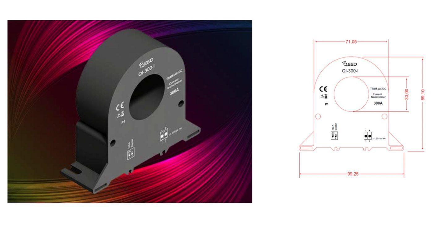 CT dòng Analog 4-20mA Qi-300-i dòng Analog 4-20mA Qi-300-i