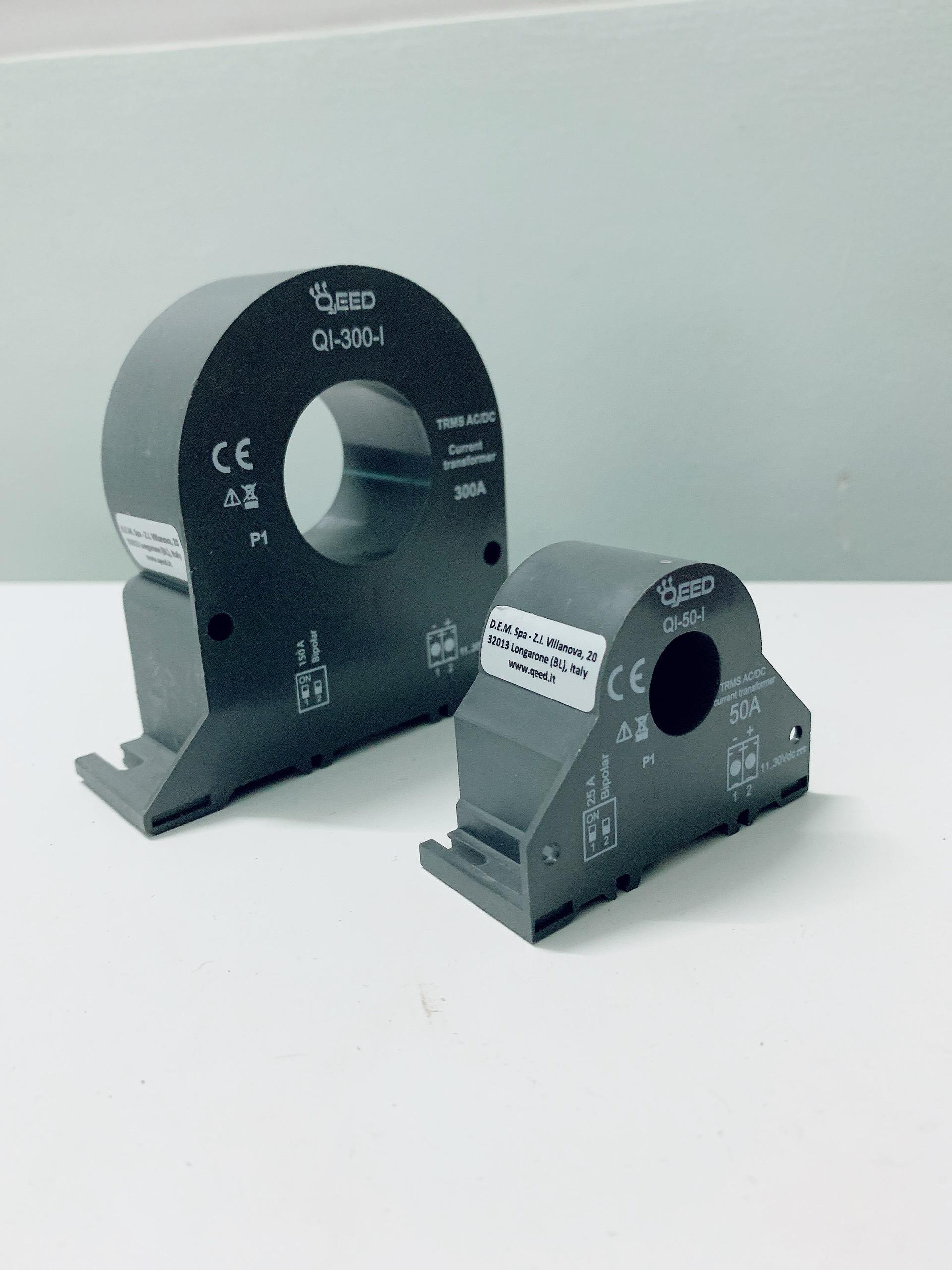 Biến dòng điện ra 4-20mA Qi50i và Qi300i