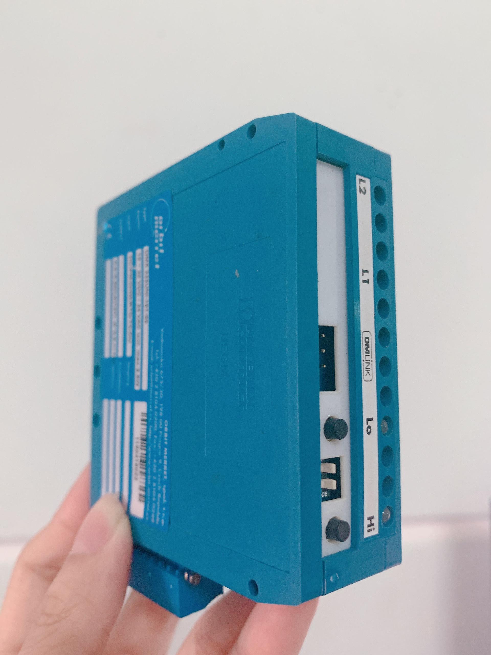 Bộ chuyển đổi cho PT100 gắn tủ điện