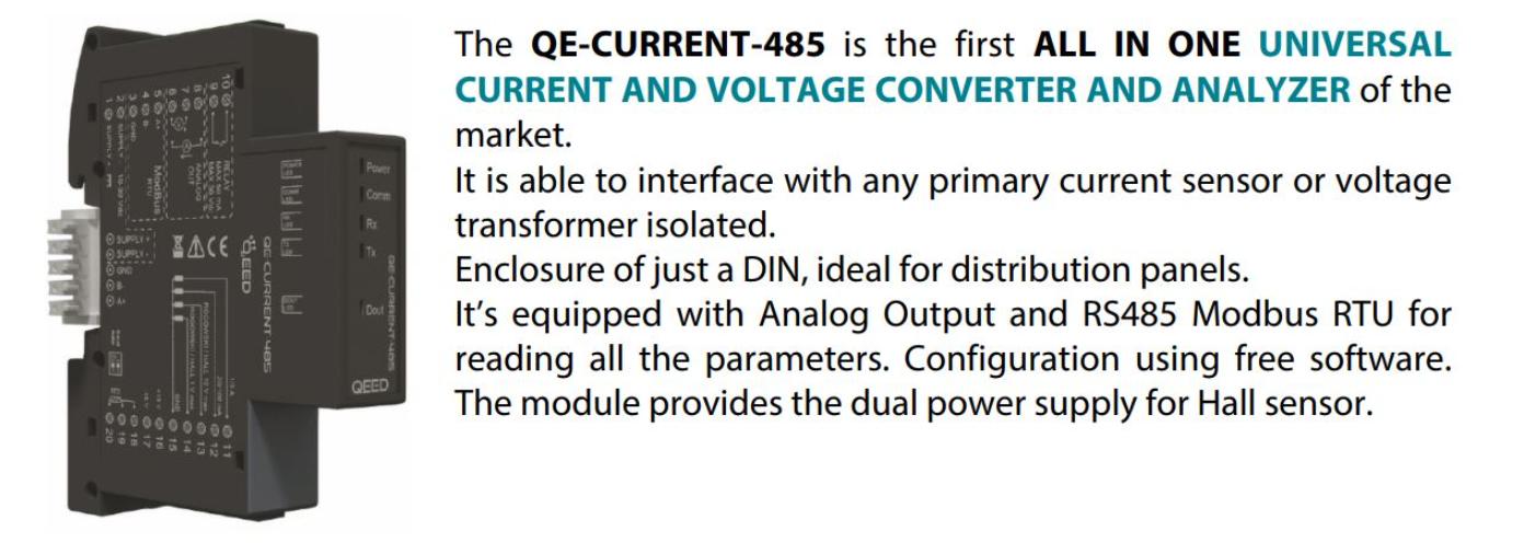 Bộ chuyển đổi tín hiệu 1000A ra 4-20mA