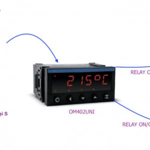Bộ hiển thị và điều khiển nhiệt độ