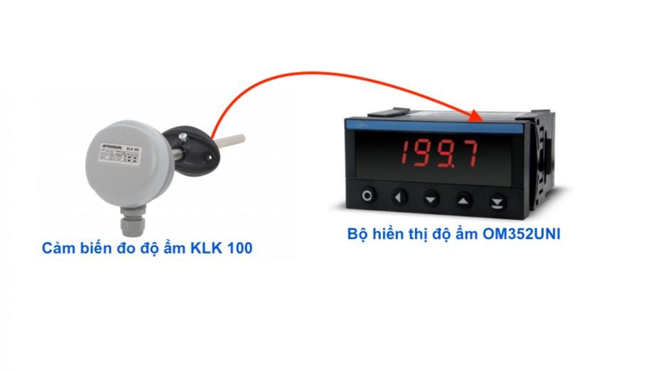Bô hiển thị và điều khiển độ ẩm