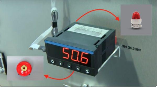 Màn hình hiển thị đo mức OM352UNI
